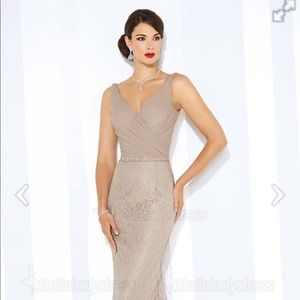 NWOT trumpet/train evening gown